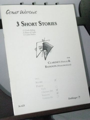 Wolfgang G - Three Short Stories